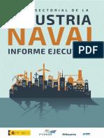 Informe Ejecutivo de la Agenda Sectorial Industria Naval