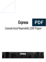ELEVATE_CSR Program  and Service provider Overview