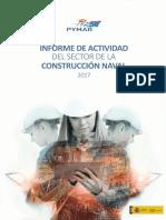 INFORME DE ACTIVIDAD DEL SECTOR DE CONSTRUCCIÓN NAVAL AÑO 2017