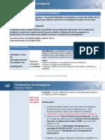 U2.  ACT 3.  FORO DE RETROALIMENTACIÓN. MI PROBLEMA DE INVESTIGACIÓN