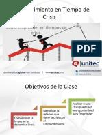 Tema 3 - Emprendimiento en tiempo de Crisis