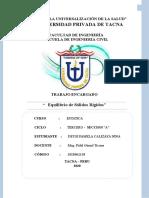 INFORME ESTATICA 01-U2 - CALIZAYA NINA DEYSI PAMELA-2018062138 TAREA U2