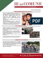 Notizie Dal Comune di Borgomanero dell'1-08-2020
