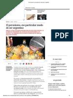 El peronismo, ese particular modo de ser argentino