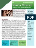 st saviours newsletter - 2 august 2020  trinity 8  ot18