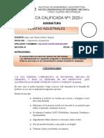 PRACTICA CALIFICADA Nº 1 PLANTAS INDUSTRIALES (1)