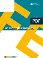 Las monedas sociales - Cuaderno de finanzas éticas