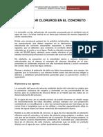 Documentos sobre cloruros