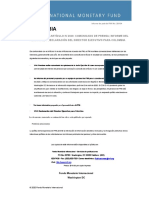 COLOMBIA 2020 ARTICLE IV CONSULTATION—PRESS RELEASE; STAFF REPORT; AND STATEMENT BY THE EXECUTIVE DIRECTO