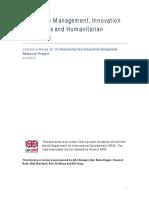 (Bessant et al, 2014) Innovation Management, Innovation Ecosystems and Humanitarian Innovation.pdf