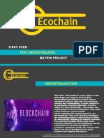 Ecochain Ecoin Based Matrix
