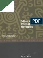 Cultura política y gobernabilidad democrática Lechner N..pdf
