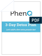 3-Day Detox Plan™ | PhenQ Document