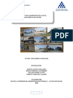 1ER INFORME AVANZE PROYECTO DE INVESTIGACION PROYECTO FUTURO II
