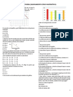 Examen de Prueba (Razonamiento Lógico Matemático)