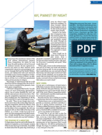 Thomas Yu Periodontist by Day, Pianist by Night by Carol Xiong (La Scena Musicale, April-August 2020)