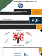 El Diseño de la Pogramación Didáctica en la EFP