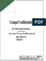 HP 15 R Series HP 250 G3 Compal ZSO4050 LA-A998P LA-A999p Ver 0.1 Schematics