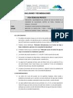 10.1 Conclusiones y Recomendaciones