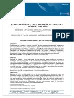 La Axiologia Educativa111