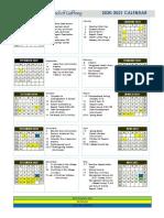 school calendar  2020-2021 copy