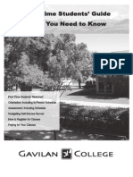 Gavilan College Guide for New Students