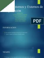 Factores Internos y Externos de la Negociación