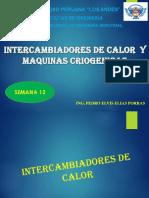 SEMANA-12-INTERCAMBIADORES DE CALOR - MAQUINAS CRIOGENICAS