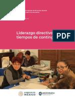 LIDERAZGO DIRECTIVO EN CONTINGENCIA