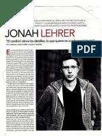 Jonah Lehrer (2010)