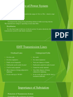 Transmission System in Electrical Engineering
