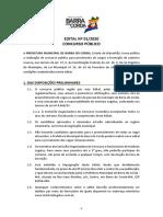 Edital 01-2020 - Abertura Barra Do Corda