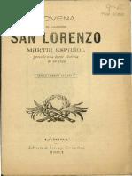 Novena a San Lorenzo Martir version 1894