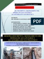 MEJORAMIENTO DEL SISTEMA DE AGUA POTABLE Y ALCANTARILLADO SAN FRANCISCO.pptx