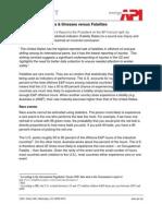 Occupational Injuries & Illnesses versus Fatalities