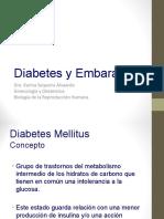Diabetes y Embarazo 2016