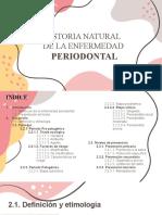 HISTORIA DE PERIODONTITIS