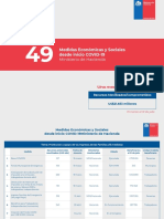 49 medidas Ministerio de Hacienda