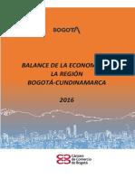 PDF Balance de la economia de la región Bogota Cundinamarca 2016.pdf