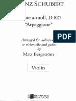 Arpeggione - Violin