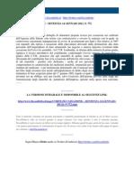 Fisco e Diritto - Corte Di Cassazione n 772 2011