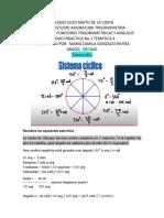 Desarrollo Taller de Trigonometria Maria Camila Gonzalez Rivera Grado 10