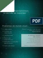 1 08-12-2017 Finanças Comportamentais Na Decisão Do Investidor Martin Iglesias