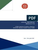 SEMANA 1. Ingenieria Economica y Financiera