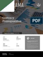 Hoja Informativa - Costos y Presupuestos