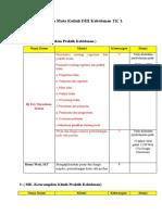 Rekapan MK TK 1 30-03-2020