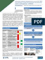 Poster Evaluación GADPMS con ISO 18091