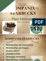 starbucks plani marketing