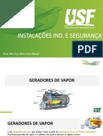 Aula 8 - Dimensionamento de Equipamentos Indistriais Parte 3 - Geradores de vapor_