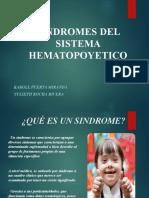 SINDROMES DEL SISTEMA HEMATOPOYETICO